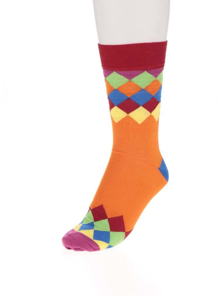 Set multicolor pentru bărbați cu 3 șosete Oddsocks Charlie