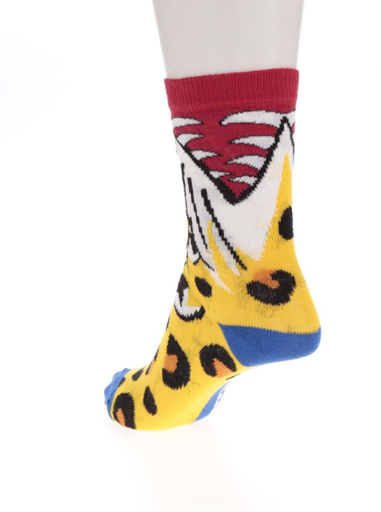 Set de 6 șosete multicolore Oddsocks Snappers cu model
