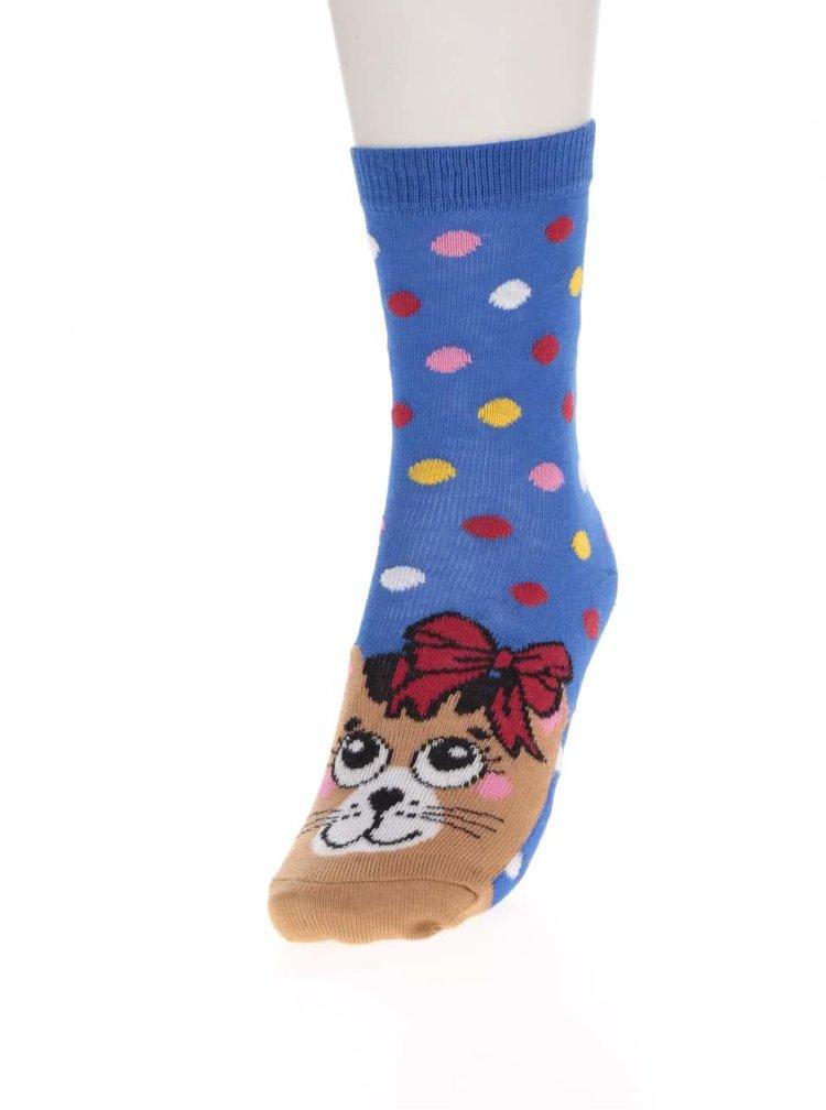 Set șase șosete multicolore Oddsocks Kitten