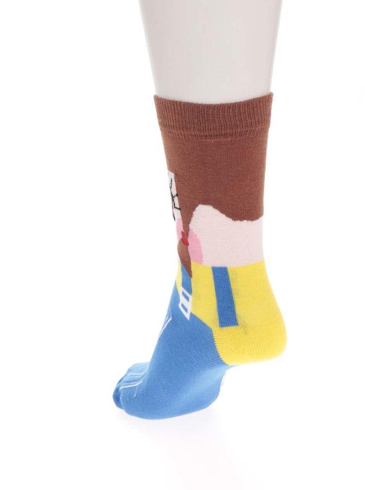 Sada šesti holčičích ponožek s motivy dam Oddsocks Sockettes