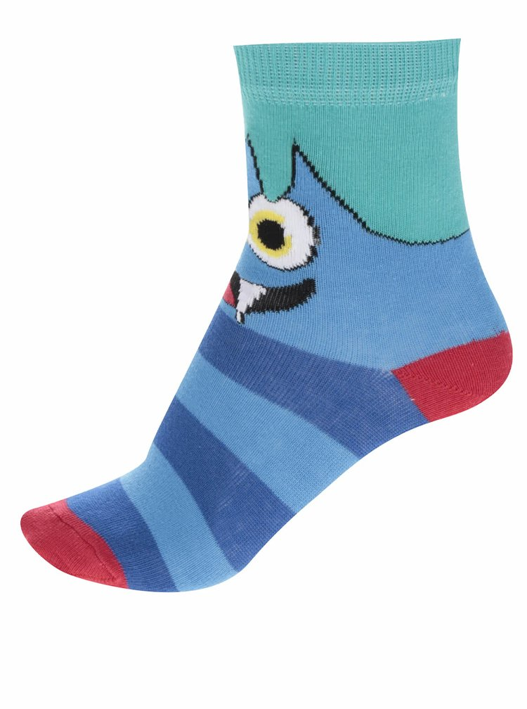 Sada šesti dětských ponožek s motivem příšerek Oddsocks Mini