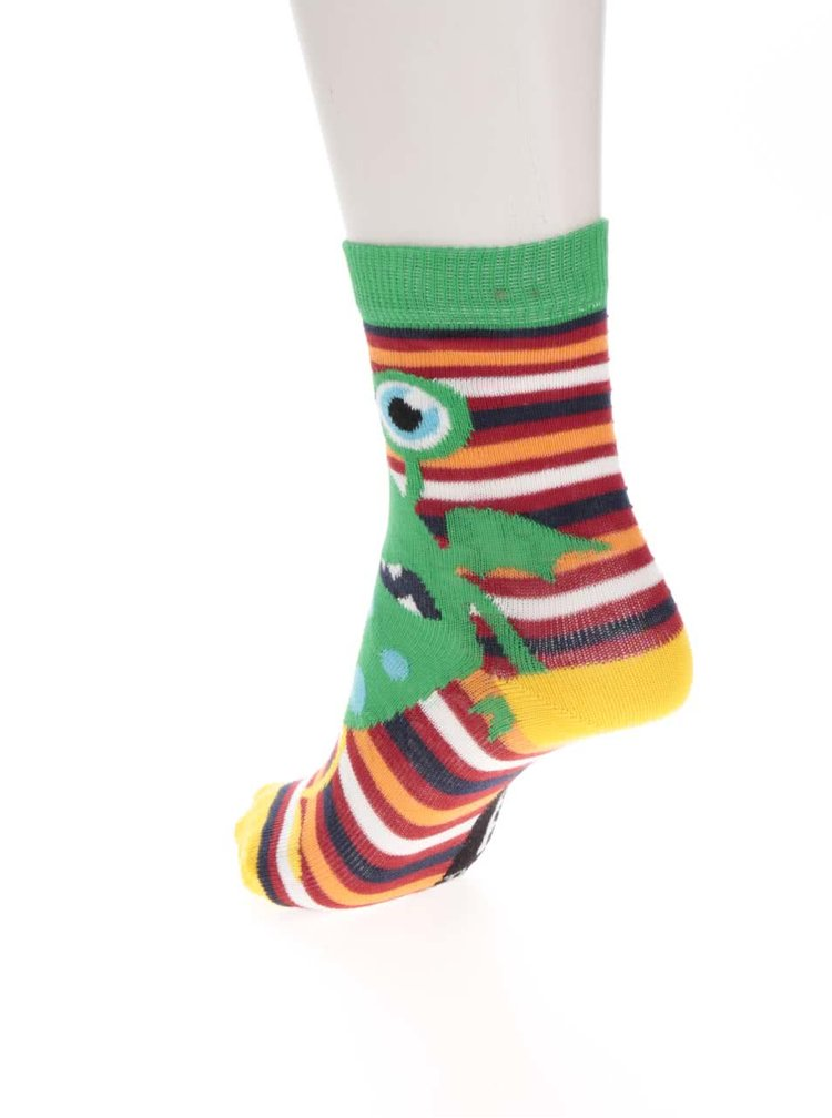 Set de 3 sosete multicolore Oddsocks Friends cu model