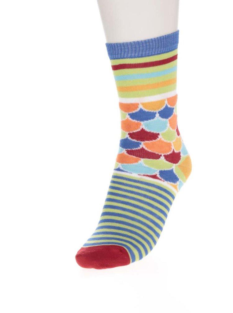 Sada tří klučičích ponožek s motivem Ryb Oddsocks Fishy