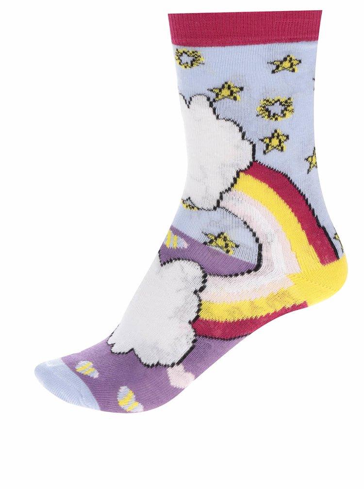 Sada tří holčičích ponožek s jednorožci Oddsocks Unicorn