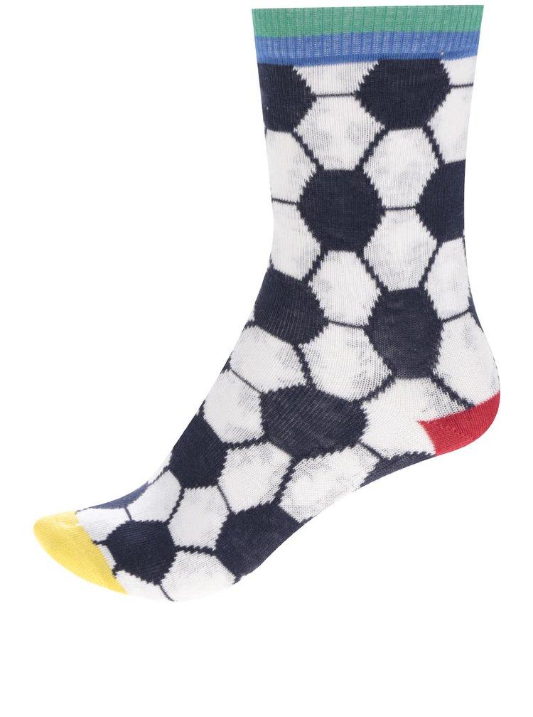 Sada tří klučičích ponožek s fotbalovým motivem Oddsocks Goal