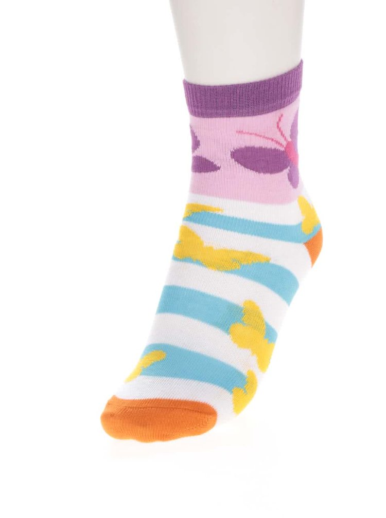 Set de 3 sosete multicolore Oddsocks Butter cu model