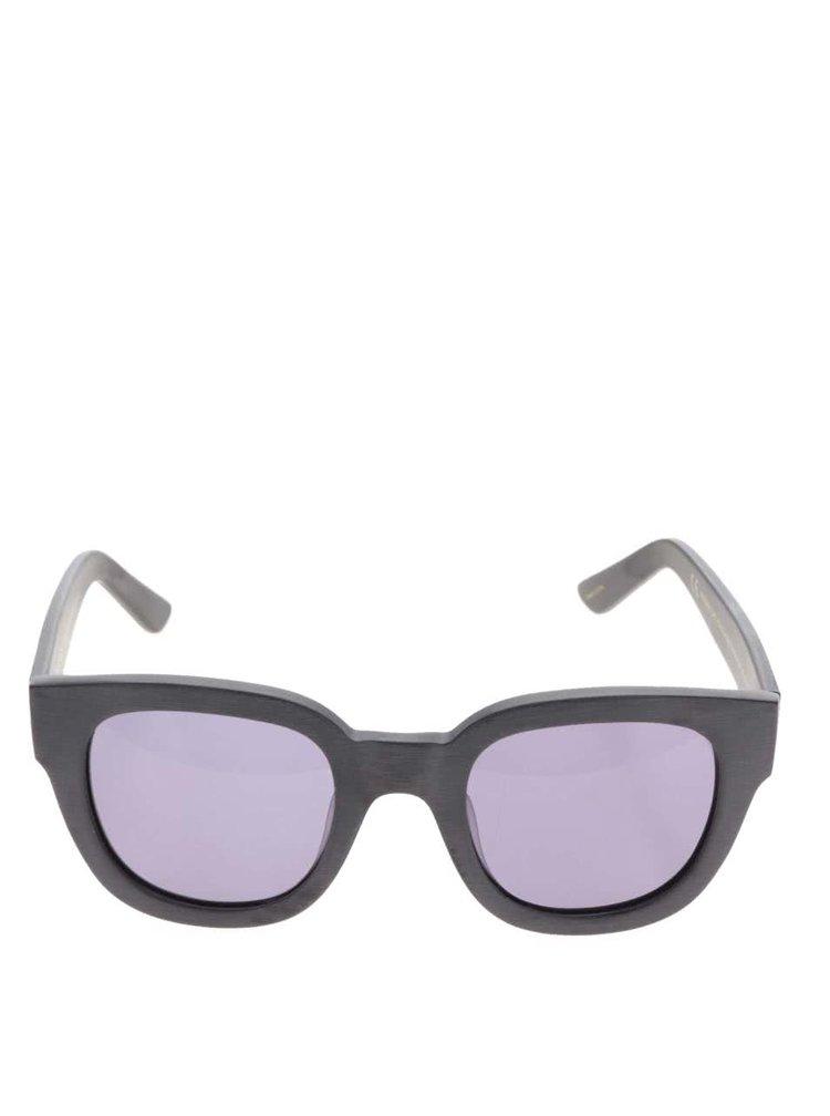 Černé sluneční brýle Pieces Goyo