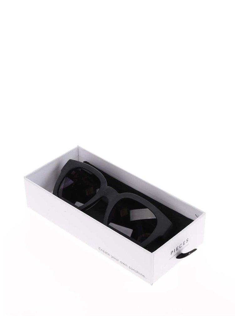 Ochelari de soare negri - Pieces Goyo