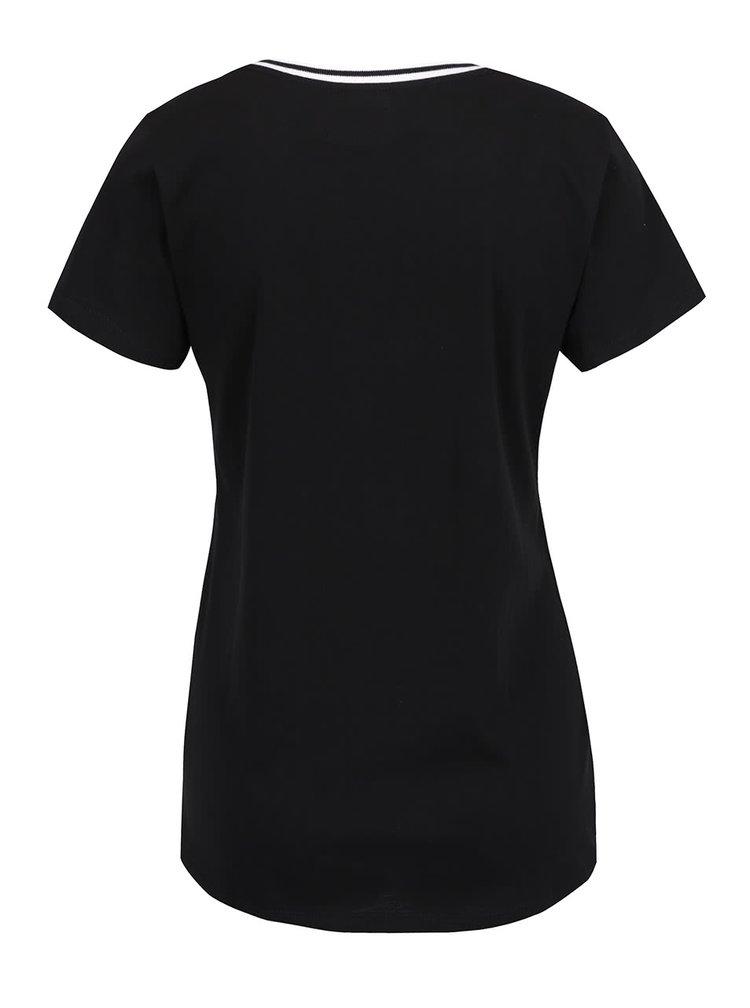 Tricou negru Cars Good din bumbac cu print