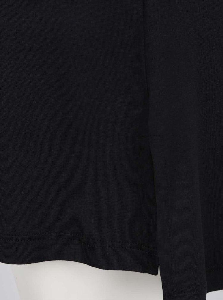 Tricou lung negru Cars Senny cu print