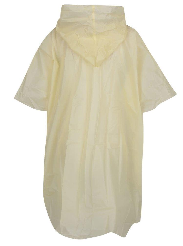 Žlutá pláštěnka s obrázkem mopse Gift Republic