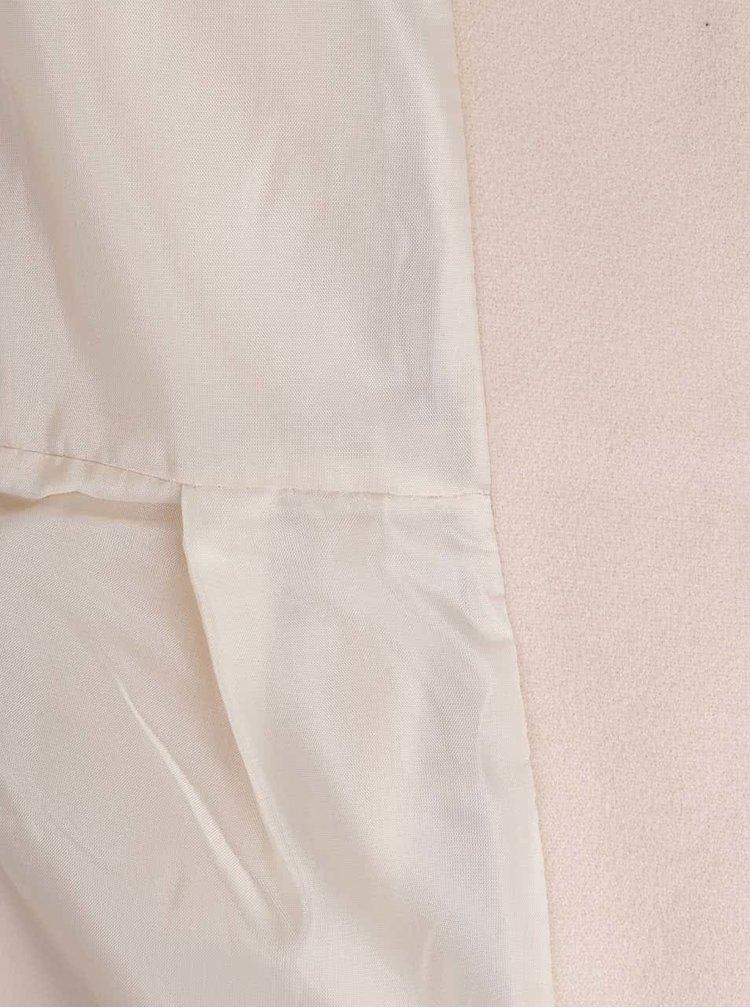 Starorůžový kabát s tenkým páskem  ZOOT