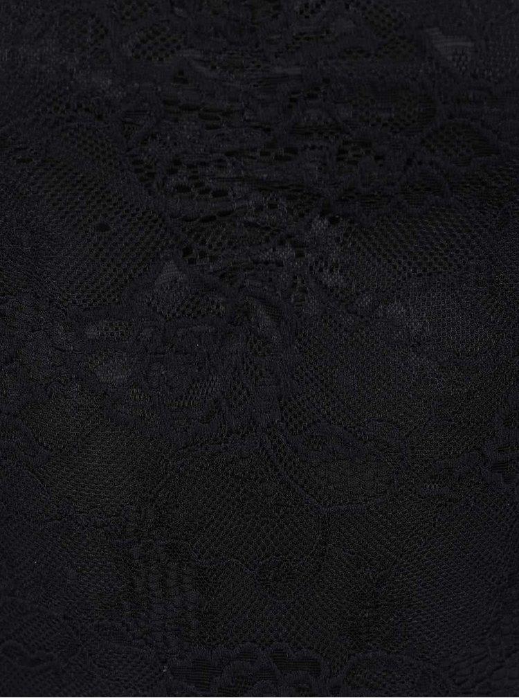 Body negru TALLY WEiJL din dantelă