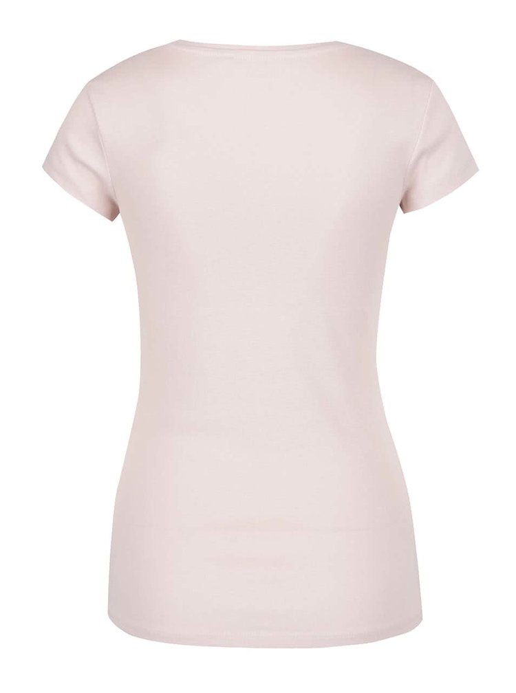Tricou roz pal TALLY WEiJL basic