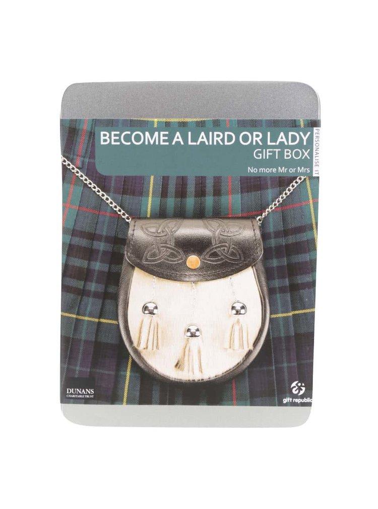 Dárková sada Staňte se skotským Lordem Gift Republic