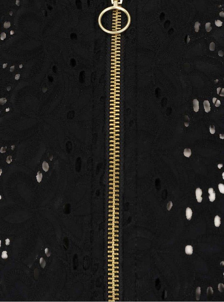 Černý madeirový bomber TALLY WEiJL
