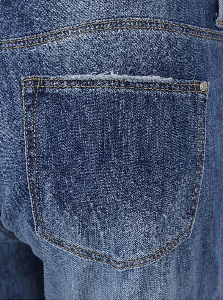 Modré džínové lacláče s nášivkami TALLY WEiJL