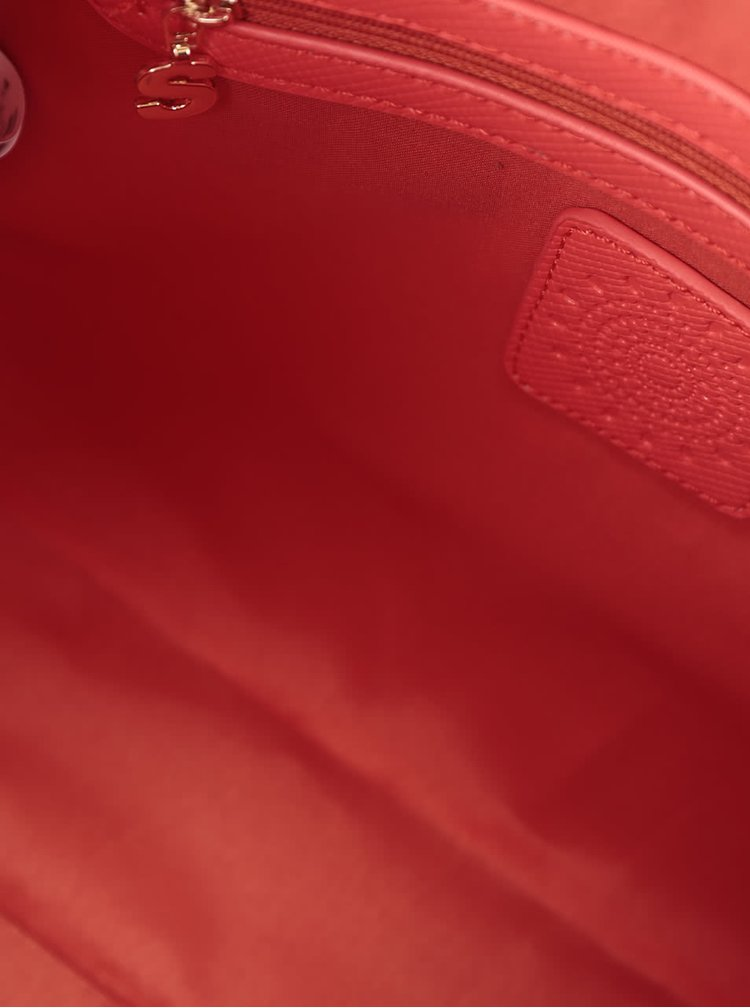 Červená kabelka Desigual Bowling Vanesa