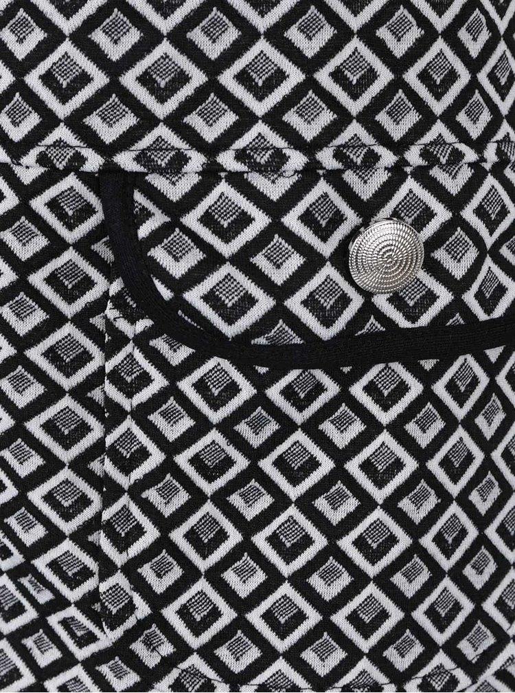 Rochie mini negru&alb Billie & Blossom
