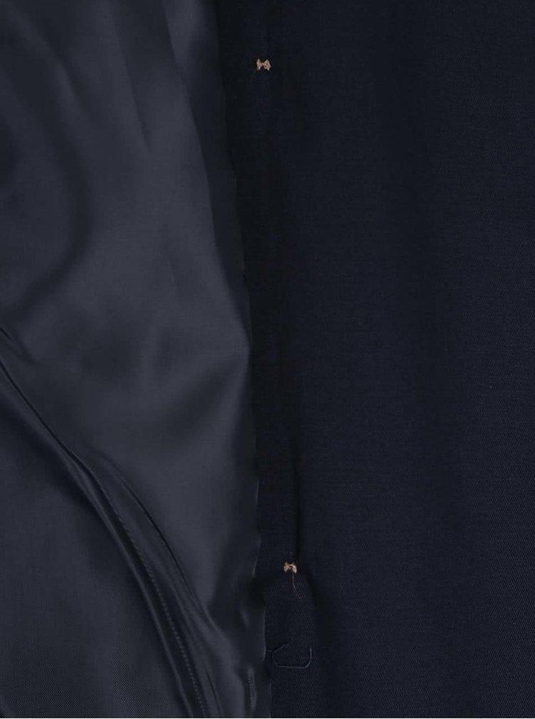 Trenci bleumarin ZOOT cu cordon in talie