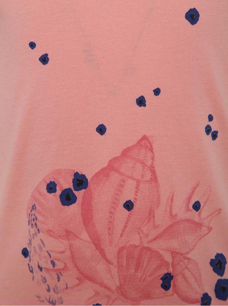 Růžové holčičí tričko s potiskem name it Veeny