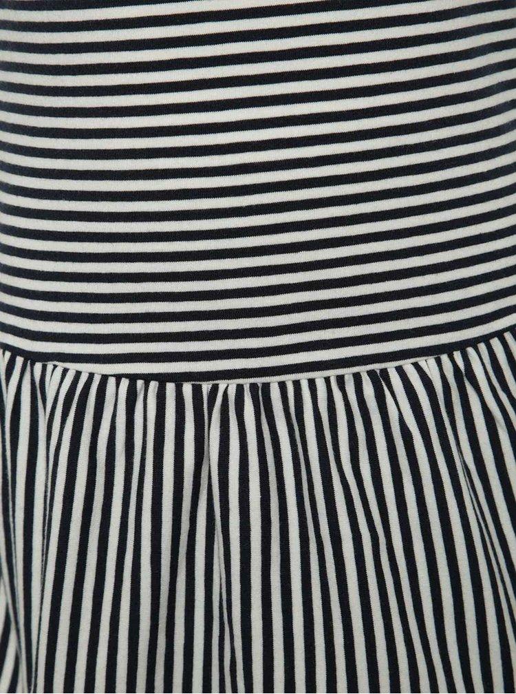 Tmavě modré holčičí pruhované šaty name it Inger