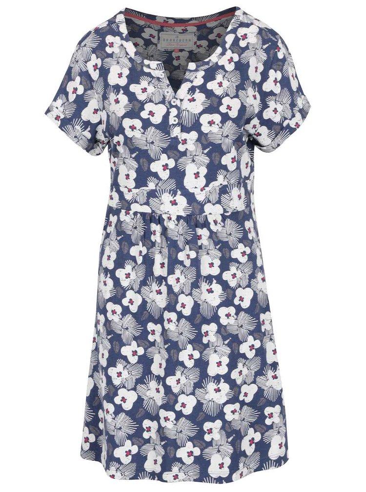 Rochie albastru închis Brakeburn cu model floral