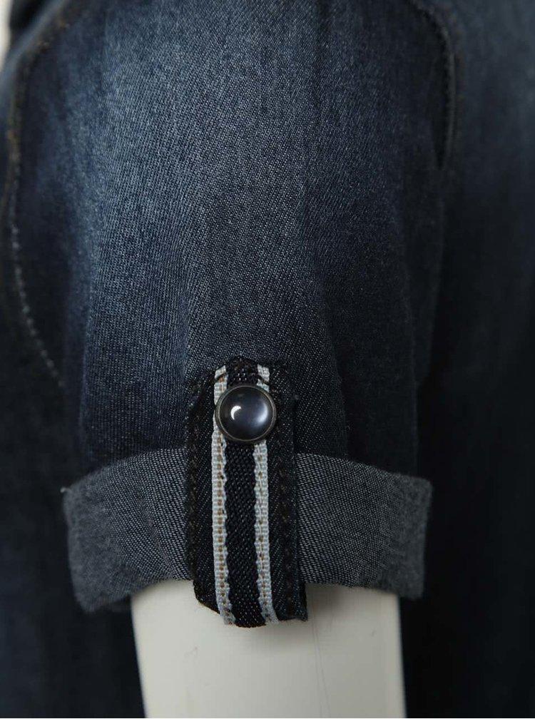 Tmavě modrá klučičí džínová košile name it Bekke