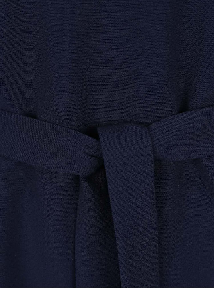 Tmavě modrý top bez rukávů VERO MODA Lauren