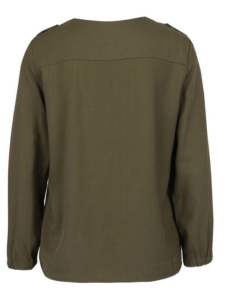 Jachetă subțire kaki VERO MODA Tailor
