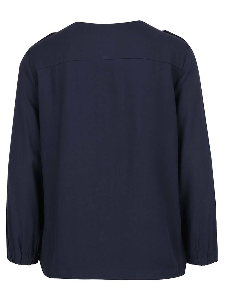Tmavě modrá lehká bunda VERO MODA Tailor