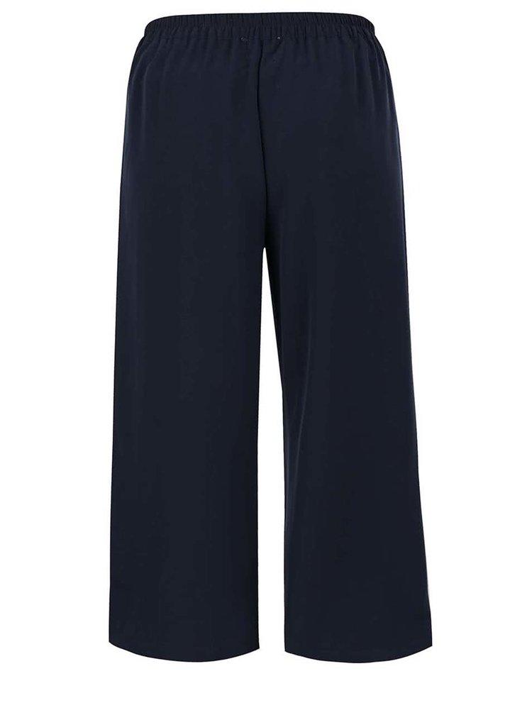 Pantaloni culottes bleumarin VERO MODA Maggie