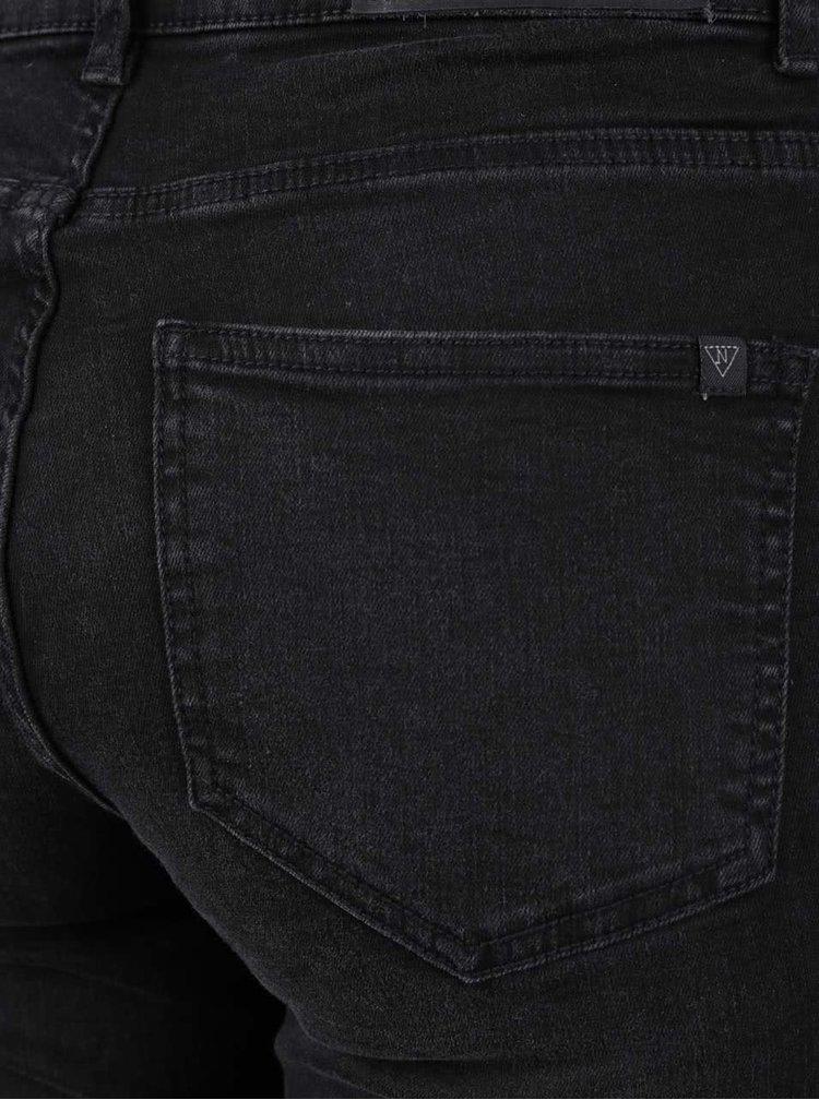 Černé džíny s potrhaným efektem Noisy May Lucy
