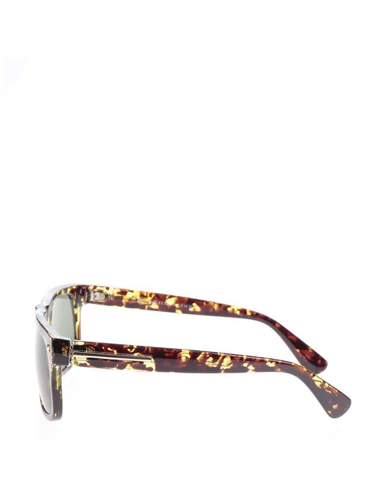 Ochelari de soare maro cu model Selected Homme Bendix