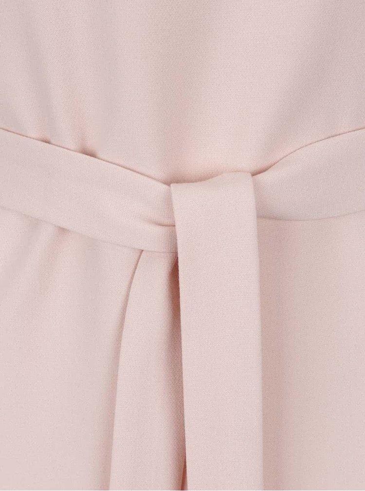 Top roz pal cu cordon VERO MODA Lauren