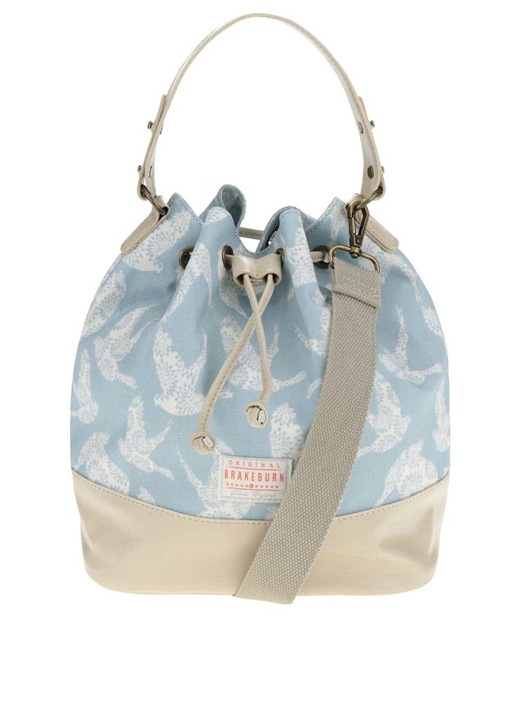 Světle modrá vzorovaná kabelka Brakeburn