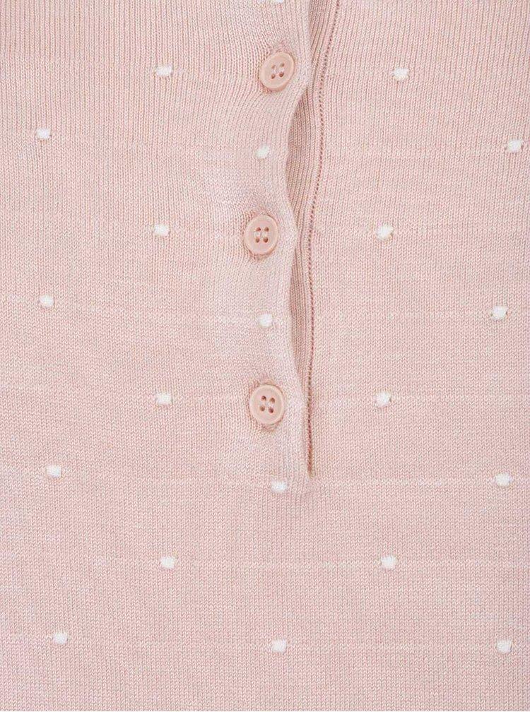 Bluza roz Vero Moda Glory cu model