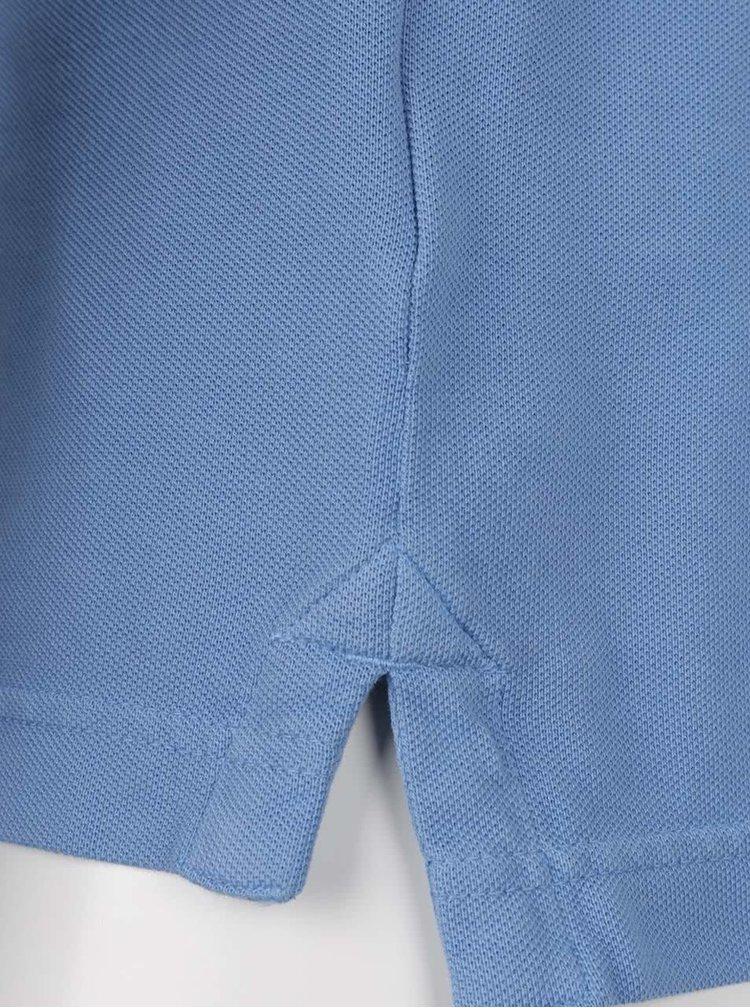 Modré pánské polo triko Superdry