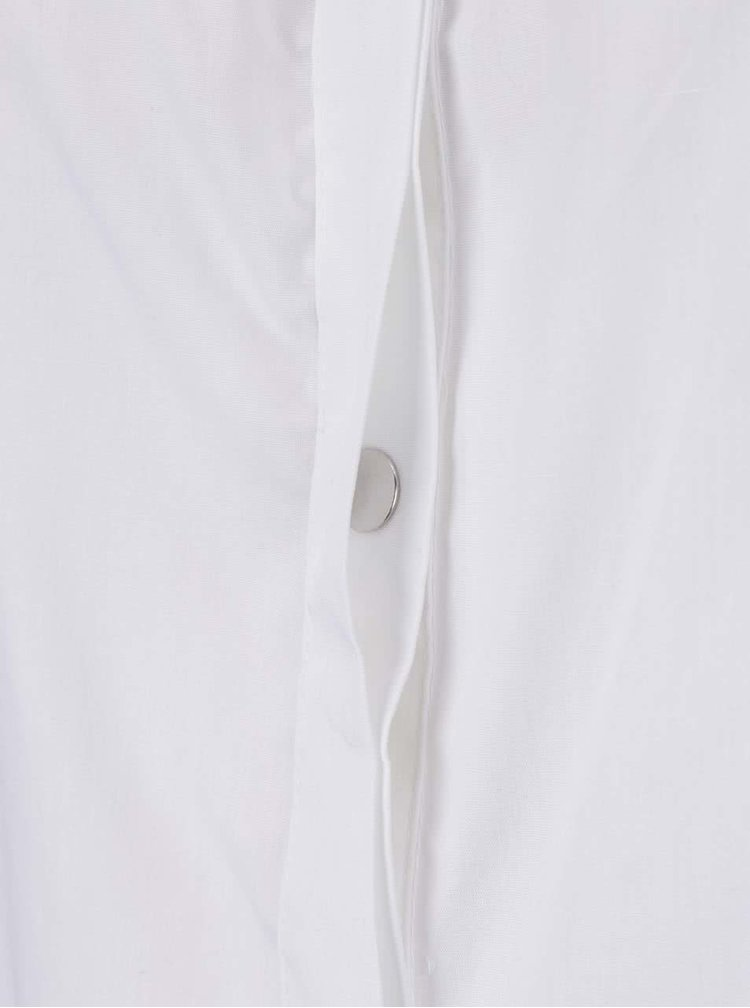 Krémový propínací top s odhalenými rameny Noisy May Noami