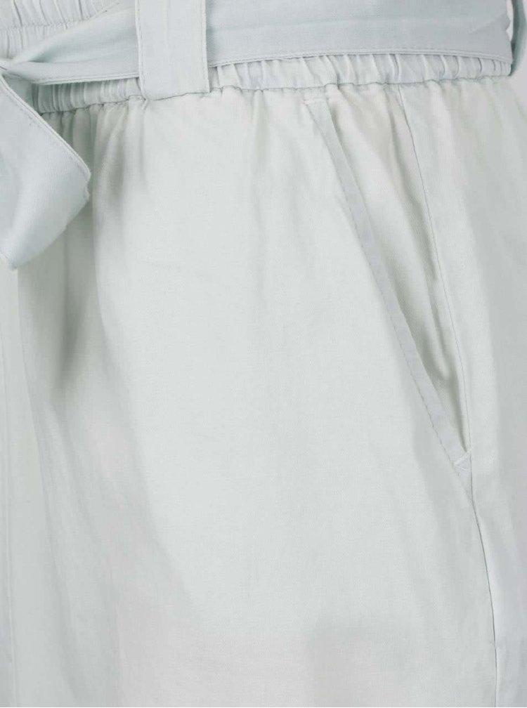 Světle modrá sukně s vázankou v pase VILA Amaze