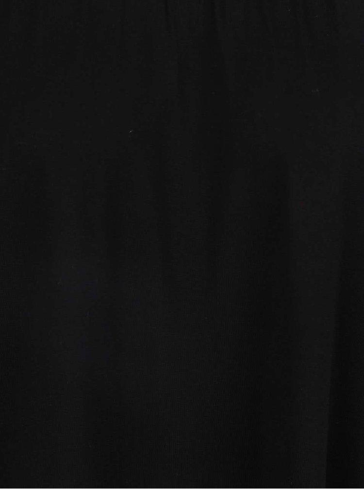 Bluza neagra Dorothy Perkins cu decolteu pe umeri