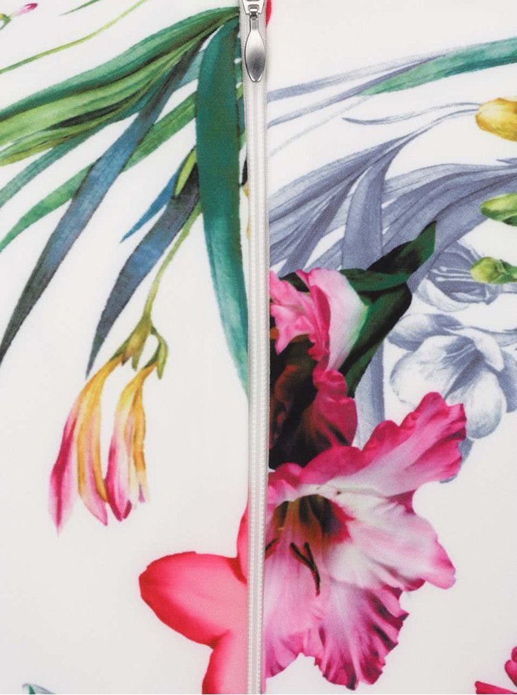 Rochie crem Paper Dolls cu model floral