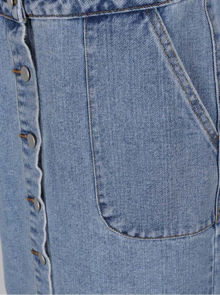 Sarafan albastru VILA Eight din denim