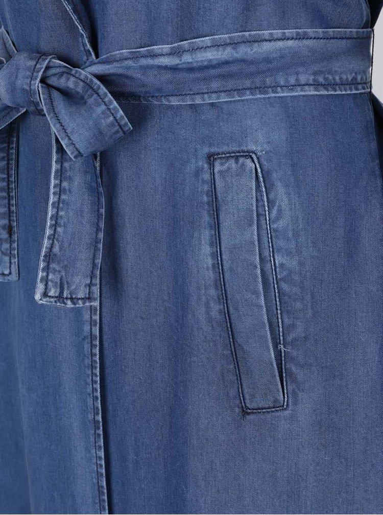 Modrý džínový lehký kabát ONLY Teresa