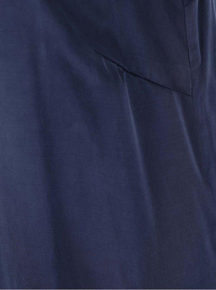 Rochie bleumarin VILA Allie cu croi lejer și bretele subțiri