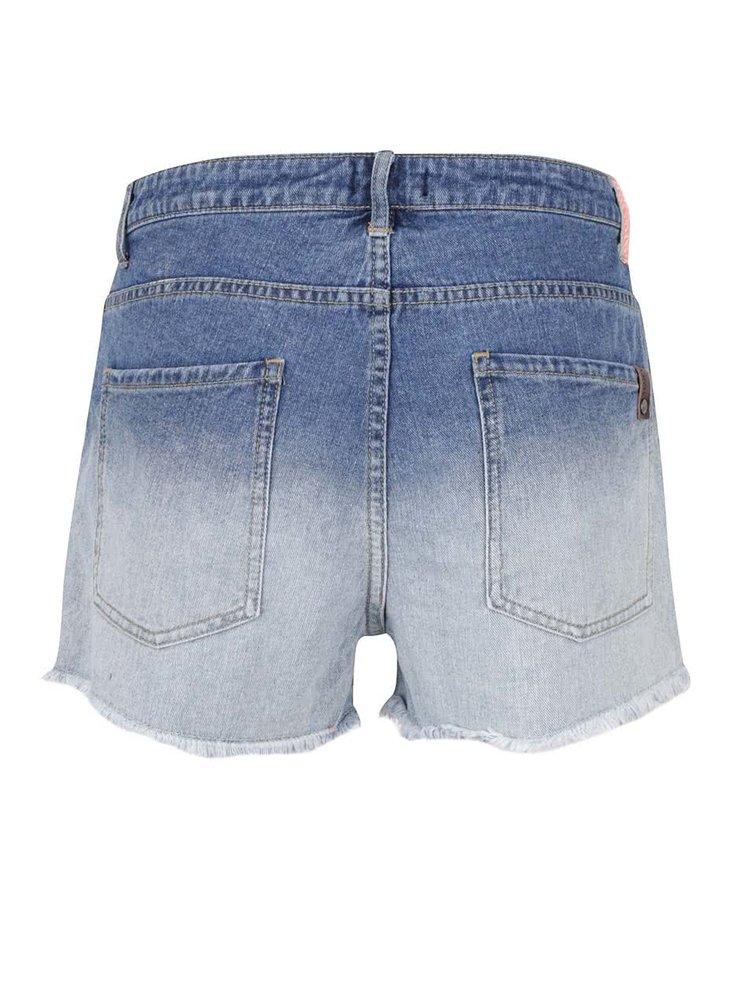 Pantaloni scurți albaștri Roxy Lovely în degrade