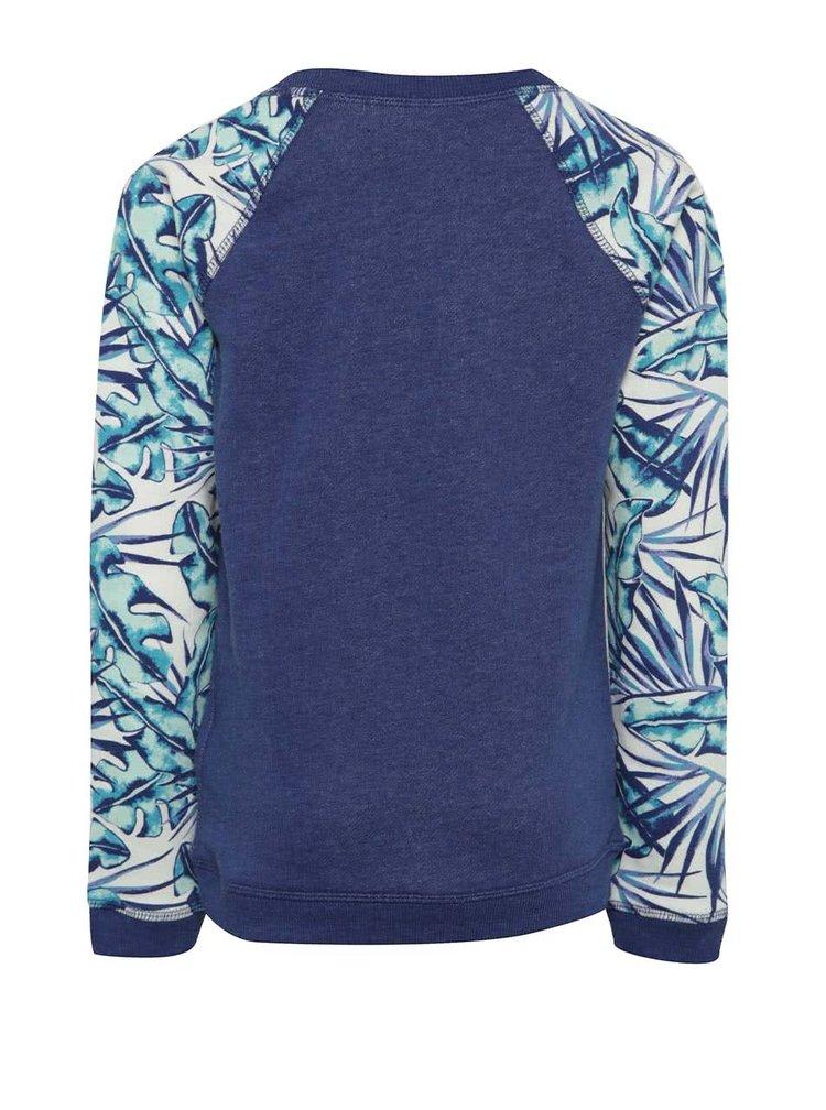 Bluză albastră print Roxy Kaukura de fete