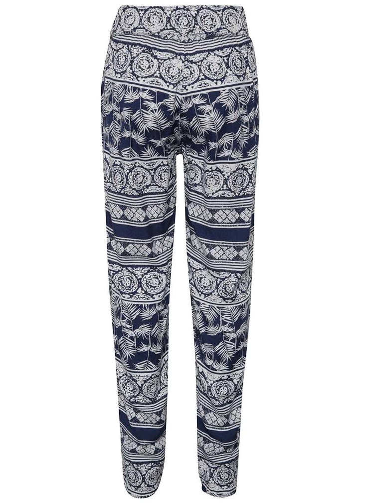 Pantaloni alb cu albastru Roxy Wanna go holiday de fete