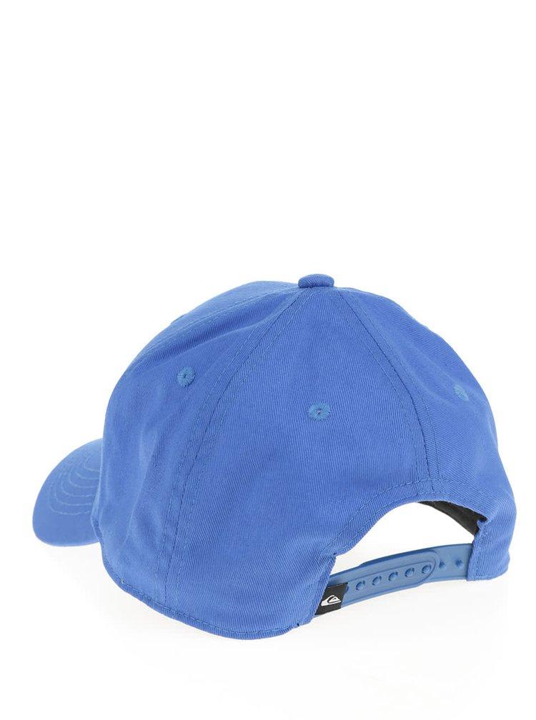 Modrá klučičí kšiltovka s výšivkou loga Quiksilver