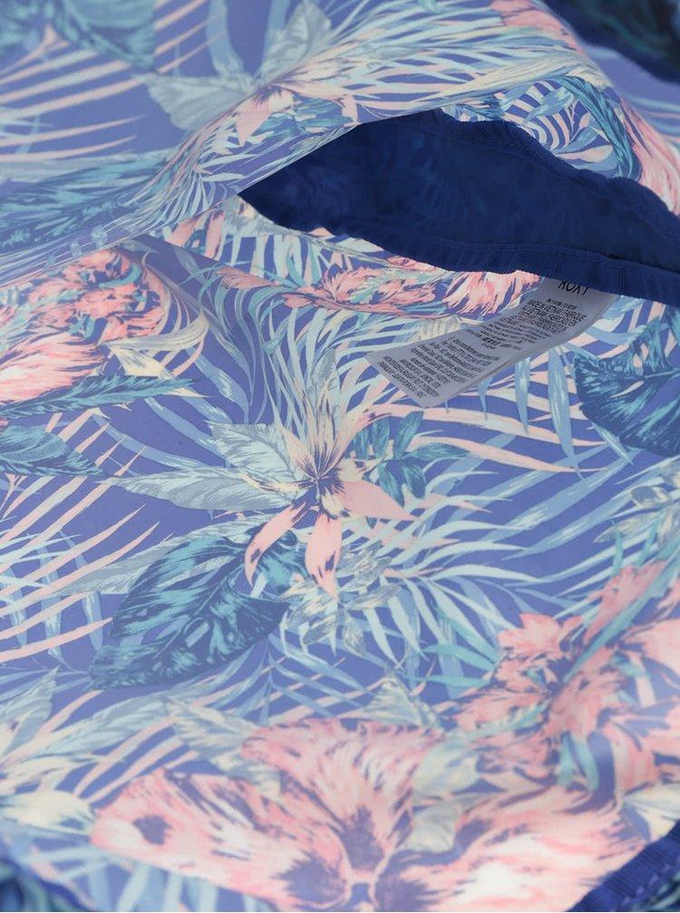 Modrý vak s tropickým vzorem Roxy Light